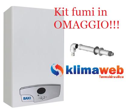 Scaldabagno scaldino a gas acquaprojet 14fi 14 litri - Scaldabagno a camera stagna ...