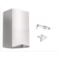 CALDAIA ARISTON HS PREMIUM 24 EU CONDENSAZIONE ErP  METANO con kit scarico fumi e kit raccordi per installazione OMAGGIO