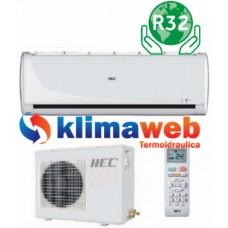 Climatizzatore HEC Gruppo HAIER serie TIDE inverter HSU-09TK 9000 BTU Gas R32 Nuovo modello 2019