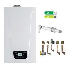 Caldaia Baxi Duo-Tec Compact E 28 kW a condensazione GPL OMAGGIO kit scarico fumi coassiale + Raccordi in Rame e valvole Low NOx NUOVO Modello