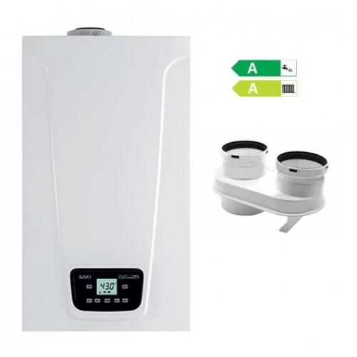 Caldaia Baxi Duo-Tec Compact E 24 kW a condensazione low NOx GPL compreso SDOPPIATORE OMAGGIO NUOVO Modello