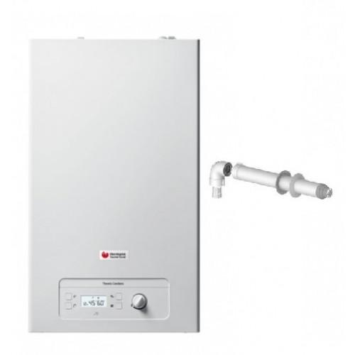 Caldaia a condensazione Hermann Saunier Duval Themis Condens 24 kW Low NOx ErP a metano e gpl kit fumi coassiale in omaggio