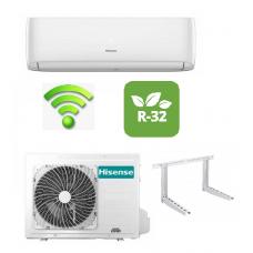 Climatizzatore Hisense Condizionatore Easy Smart 9000 btu predisposizione Wifi Ready CA25YR03G Gas R32 Inverter Pompa di calore Nuovo modello 2021OMAGGIO STAFFE