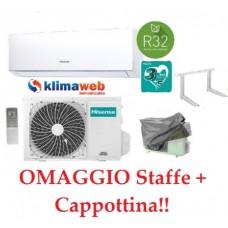 Climatizzatore New Comfort 9000 btu gas R32 inverter classe a++ DJ25VE0AG  NUOVA GAMMA 2021!! WIFI OPTIONAL.  Omaggio Staffe+Cappottina ALETTE INTERNE ORIENTABILI GARANZIA 3/5 ANNI