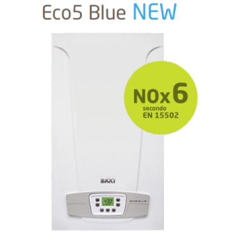 Caldaia Baxi camera aperta ECO5 BLUE 24 kw Low Nox 6 Ultimo modello GPL