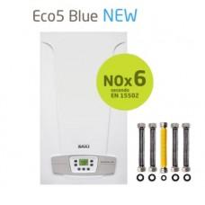 Caldaia Baxi camera aperta ECO5 BLUE 24 kw + KIT RACCORDI FLESSIBILI Metano Low Nox 6 Ultimo modello