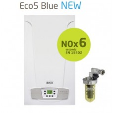Caldaia Baxi camera aperta ECO5 BLUE 24 kw + FILTRO POLIFOSFATI GPL Low Nox 6 Ultimo modello