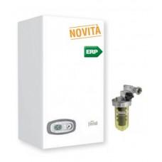 Caldaia Ferroli DIVATECH D LN C 24 kw camera aperta + Filtro POLIFOSFATI a tiraggio naturale GPL Low Nox Ultimo modello New ERP