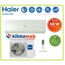 Climatizzatore condizionatore Haier modello Flexis 9000 btu AS25S2SF1FA-MW colore bianco inverter gas R32 classe A+++ Wifi integrato ultimo modello 2019