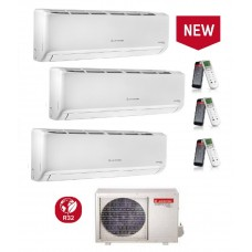 Climatizzatore Condizionatore Ariston serie ALYS R32 trial split 9000+9000+9000 esterna 80 XD0-O 9+9+9 Classe A++ WI-FI Opzionale - Funziona AUTO PULENTE - ULTIMO MODELLO!!!