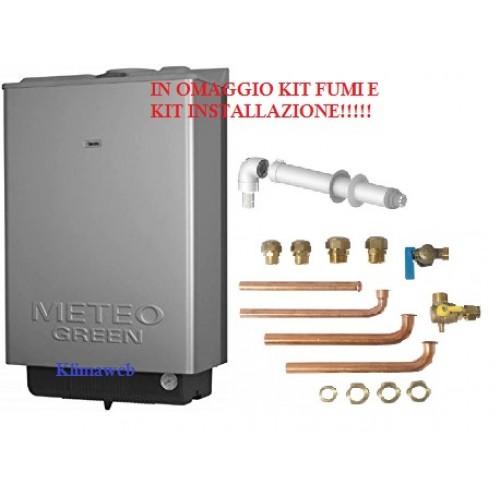 Caldaia meteo green he box 35 csi a condensazione da incasso tecnologia erp kit installazione omaggio metano