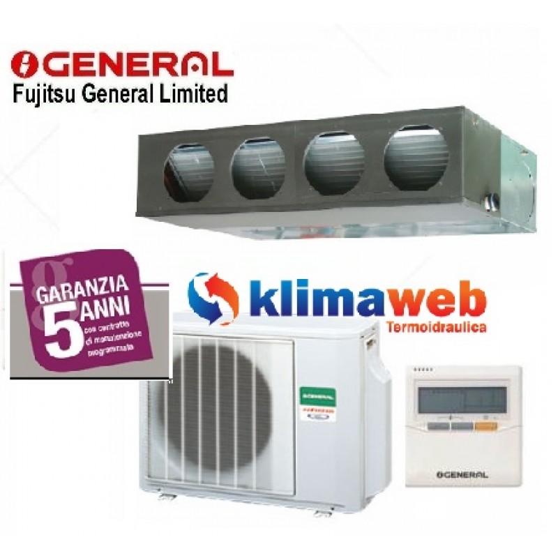 Climatizzatore General Fujitsu Canalizzato ARHG24LMLA 24000 btu Linea  COMMERCIALE Media/Alta Prevalenza Inverter Pompa di Calore Gas R410A  Monofase