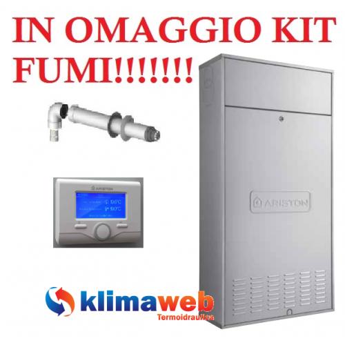 Caldaia Ariston a Condensazione EGIS Premium EVO IN 30 ff Nuova Tecnologia ERP + GPL kit scarico fumi OMAGGIO