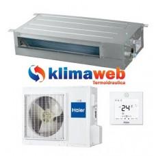 Climatizzatore Condizionatore Canalizzato Slim Bassa Pressione 12000 btu AD12SS1ERA GAS R410A Inverter Classe A+ PANNELLO ACQUISTABILE SEPARATAMENTE