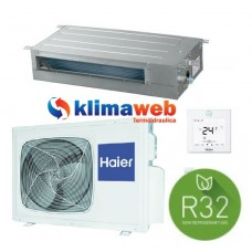 Climatizzatore Condizionatore Canalizzato Slim Bassa Pressione 12000 btu AD35S2SS1FA GAS R32 Inverter Classe A++ PANNELLO ACQUISTABILE SEPARATAMENTE