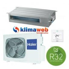 Climatizzatore Condizionatore Canalizzato Slim Bassa Pressione 18000 btu AD50S2SS1FA GAS R32 Inverter Classe A++ PANNELLO ACQUISTABILE SEPARATAMENTE