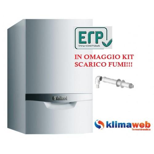 Caldaia ecotec plus vmi 346/5-5 con bollitore a condensazione 34 kw nuova tecnologia erp in omaggio kit fumi
