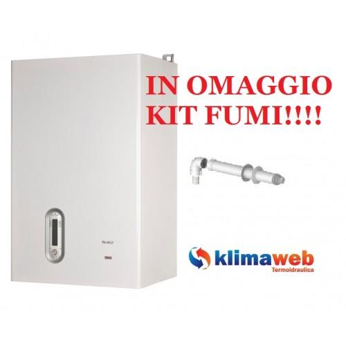 Caldaia Family Aqua Condens 3.5 bis con accumulo 60 litri nuova tecnologia erp uni en 483 nuovo modello in omaggio kit fumi