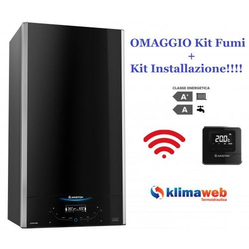 Caldaia a Condensazione ALTEAS ONE NET 30 Kw nuova tecnologia ERP + kit scarico fumi e kit Installazione Originali in OMAGGIO Metano