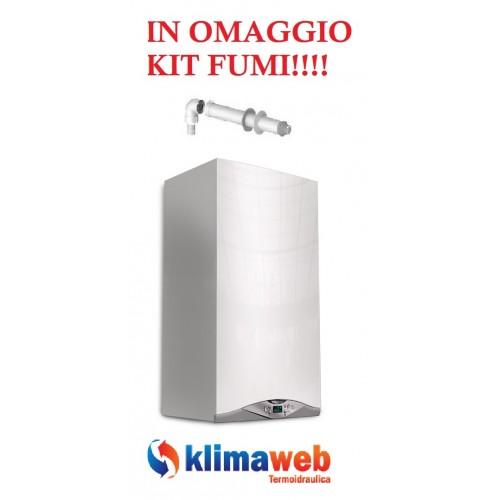 Caldaia Cares Premium 24 Kw FF  condensazione nuova tecnologia erp uni en 483 kit fumi in omaggio METANO