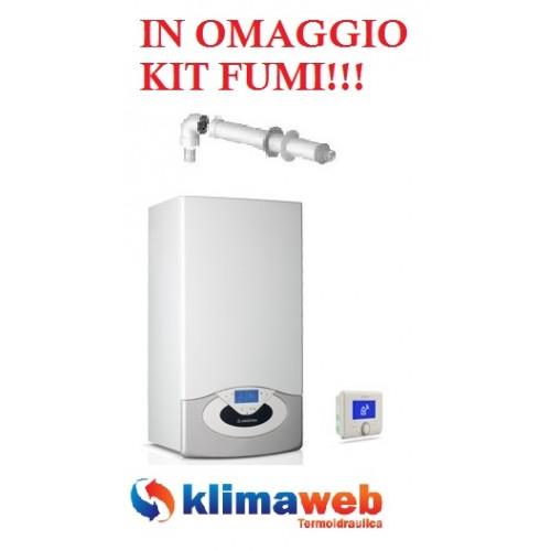 Caldaia Genus Premium Net eu 24 ff condensazione con servizio connettività nuova tecnologia erp 483 kit fumi in omaggio