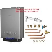 Caldaia meteo green he 35 csi a condensazione nuova tecnologia erp con kit installazione omaggio metano