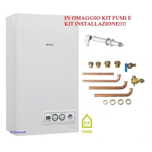 Caldaia paros green 30 csi a condensazione nuova tecnologia erp con kit installazione omaggio metano