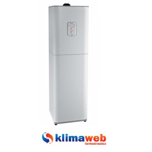 Caldaia a basamento a condensazione Paros Zelios EU 25KW con accumulo solare integrato new erp kit scarico fumi omaggio