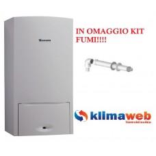 Caldaia a gas CERAPUR SMART 24KW a Condensazione New ERP in omaggio kit fumi metano