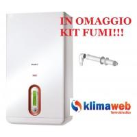 Caldaia Family AR 29 kis condens nuova tecnologia erp alto rendimento uni en 483 in omaggio kit fumi
