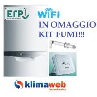 Caldaia Ecotec Plus vmw 256/5-5 vSMART WiFi a condensazione nuova tecnologia erp 25 kw in omaggio kit fumi