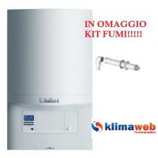 Caldaia Ecotec pro VMW 236/5-3 a condensazione nuova tecnologia erp 23,5 kw in omaggio kit fumi