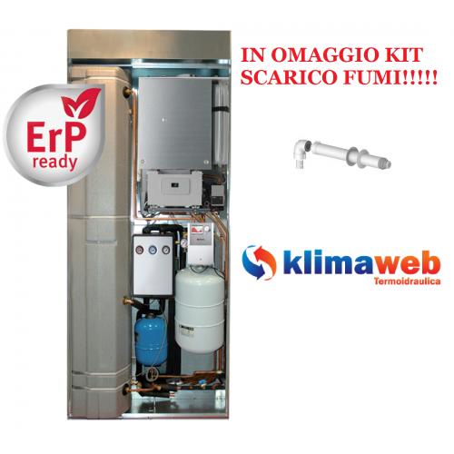 Caldaia Spaziozero 4 condensing 26 SB Solo Riscaldamento da esterno ad Incasso nuova tecnologia erp kit fumi in omaggio