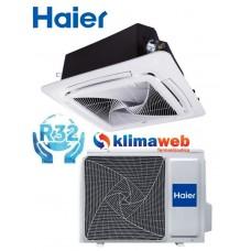 Climatizzatore Condizionatore Haier Cassetta 4 vie 18000 btu gas R32 Monosplit Monofase Inverter Classe A++ PANNELLO E TELECOMANDO INCLUSI!!!!