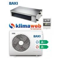 Climatizzatore Condizionatore Baxi monosplit CANALIZZATO 18000 btu Light Commercial DC inverter classe A++/A+ RZGND50 Gas R32 Wifi opzionale