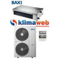 Climatizzatore Condizionatore Baxi monosplit CANALIZZATO 48000 btu Light Commercial DC inverter RZGND140 Gas R32 Wifi opzionale