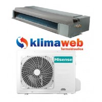 Climatizzatore Hisense monosplit CANALIZZATO 18000 btu ADT52UX4SKL3 Commercial Comando a filo DC inverter classe A++ Gas R410