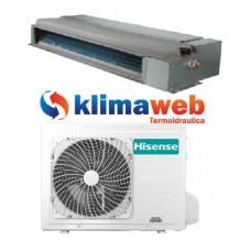 Climatizzatore Hisense monosplit CANALIZZATO 9000 btu ADT26UX4SNL4 Commercial Comando a filo DC inverter classe A++ Gas R32