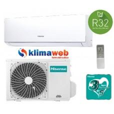 Climatizzatore Hisense New Comfort 9000 btu gas R32 inverter classe a++ DJ25VE0AG  NUOVA GAMMA 2020!! WIFI OPTIONAL. ALETTE INTERNE ORIENTABILI GARANZIA 3/5 ANNI