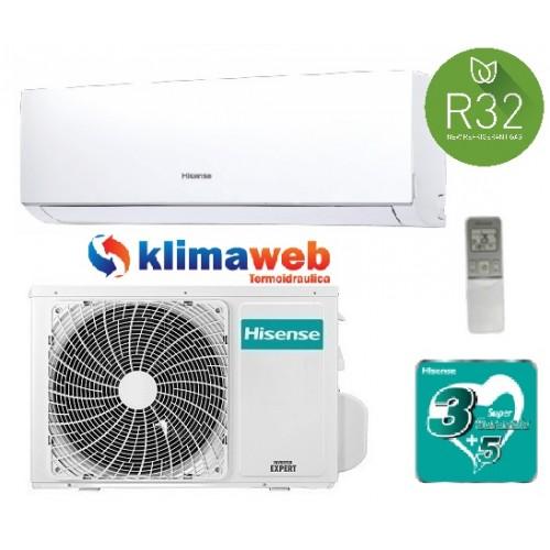 Climatizzatore Hisense New Comfort 9000 btu gas R32 inverter classe a++ DJ25VE0AG nuova gamma 2019 ALETTE INTERNE ORIENTABILI GARANZIA 3/5 ANNI