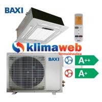 Climatizzatore Condizionatore Baxi monosplit CASSETTA 4 VIE 18000 btu DC inverter classe A++/A+ RZBK50 Gas R410