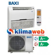 Climatizzatore Condizionatore Baxi monosplit Pavimento/Soffitto 18000 btu DC inverter classe A++/A+ RZN50 Gas R410