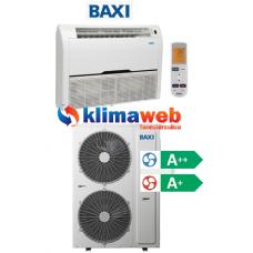 Climatizzatore Condizionatore Baxi monosplit Pavimento/Soffitto 36000 btu DC inverter classe A++/A+ RZN100 Gas R410