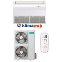 Climatizzatore Condizionatore Pavimento / Soffitto AUV140R6C Monosplit inverter 48000 btu Trifase Gas R410A