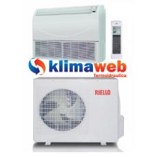 Climatizzatore Condizionatore Riello AARIA AMS35 12000 btu Soffitto/Pavimento Bianco Classe A+ Inverter Pompa di Calore Gas R410A