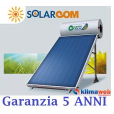 Pannello Solare Termico MARK 160 Lt/2,1 mq Circolazione Naturale TETTO FALDA Completo di kit fissaggio, collettore e Glicole con bollitore da 160 litri